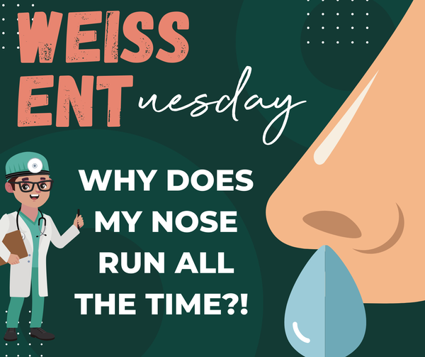 Why does my nose run all the time?!